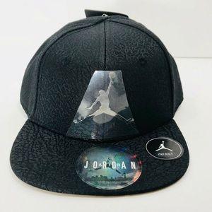 Jordan Infant Toddler Black SnapBack Hat 12 24M c7ee75e40671